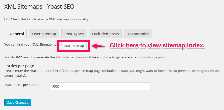 fix yoast seo sitemap not found working generating 404 1up